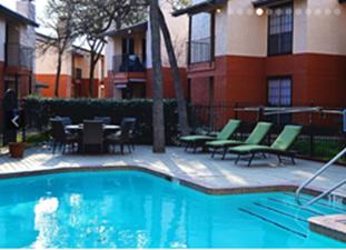 Pool at Listing #140206