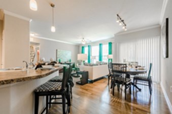 Living/Kitchen at Listing #155275