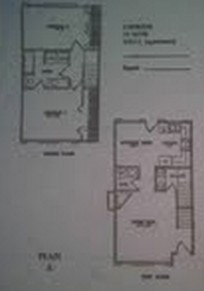 1,040 sq. ft. A floor plan