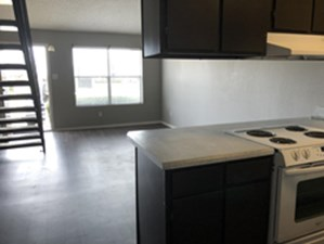 Living/Kitchen at Listing #138059
